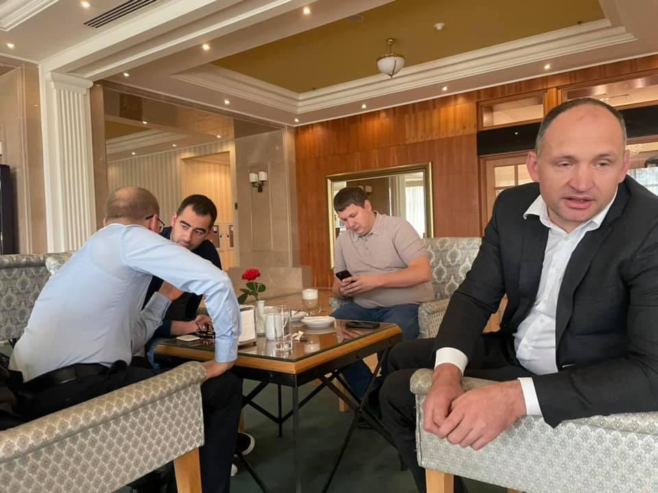 Александр Трухин и Олег Татаров (фото – Власта Лазур)
