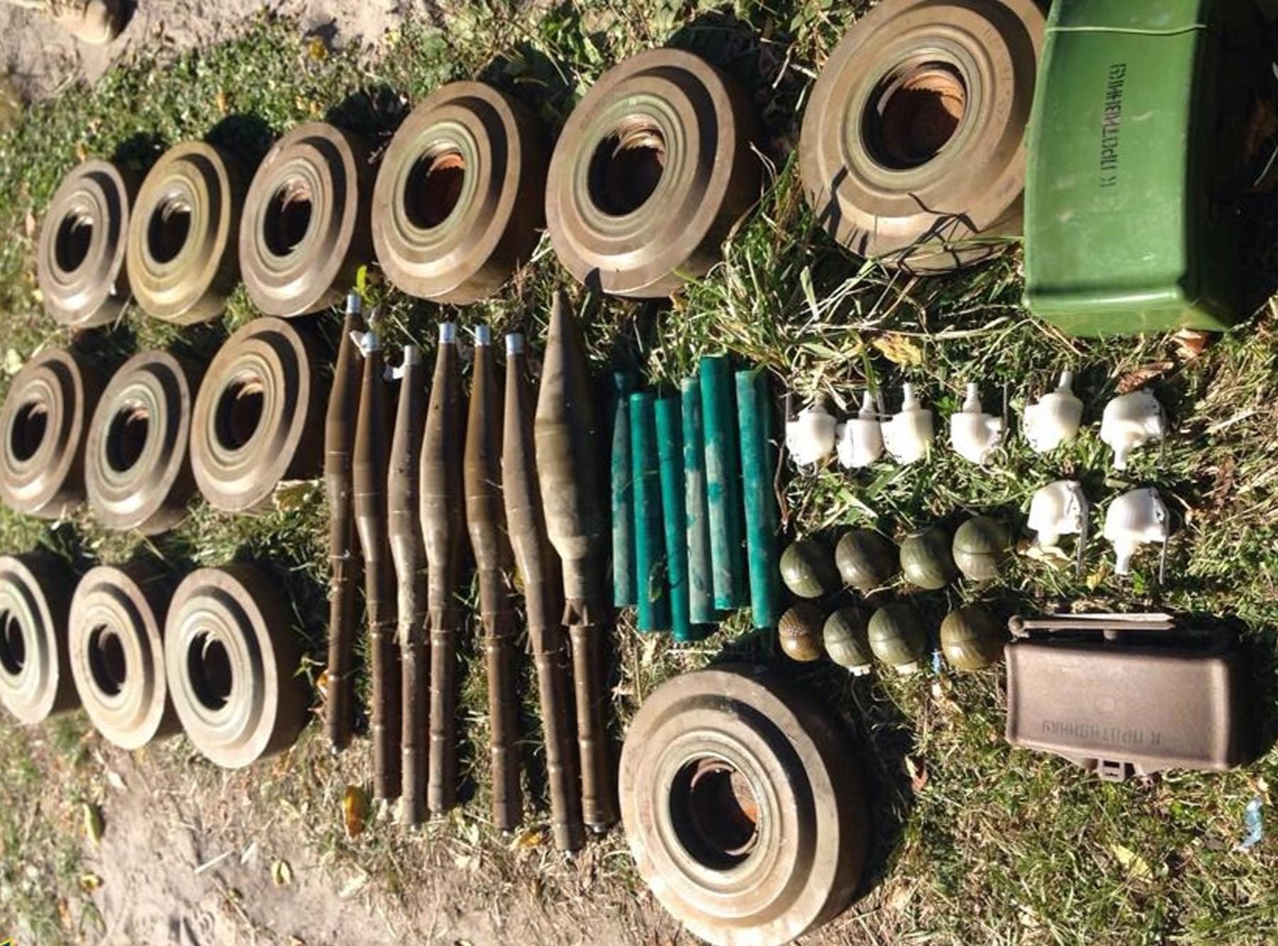 Предотвращены диверсии. В Луганской области нашли тайник с противотанковыми минами – СБУ