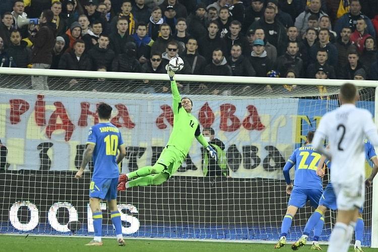 Футбол. Сборная Украины снова сыграла вничью в отборе на ЧМ-2022, теперь – с боснийцами