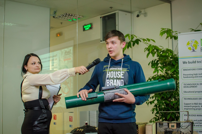 Юные ученые показали свои изобретения на Tech Today Hub