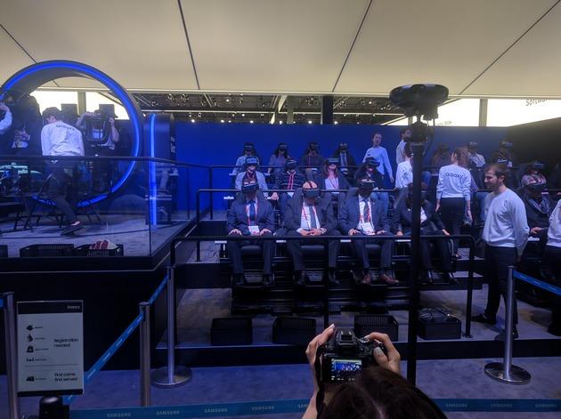 VR-аттракцион Samsung