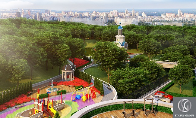 Подол Плаза Резиденс - строительство жилья премиум-класса в Киеве