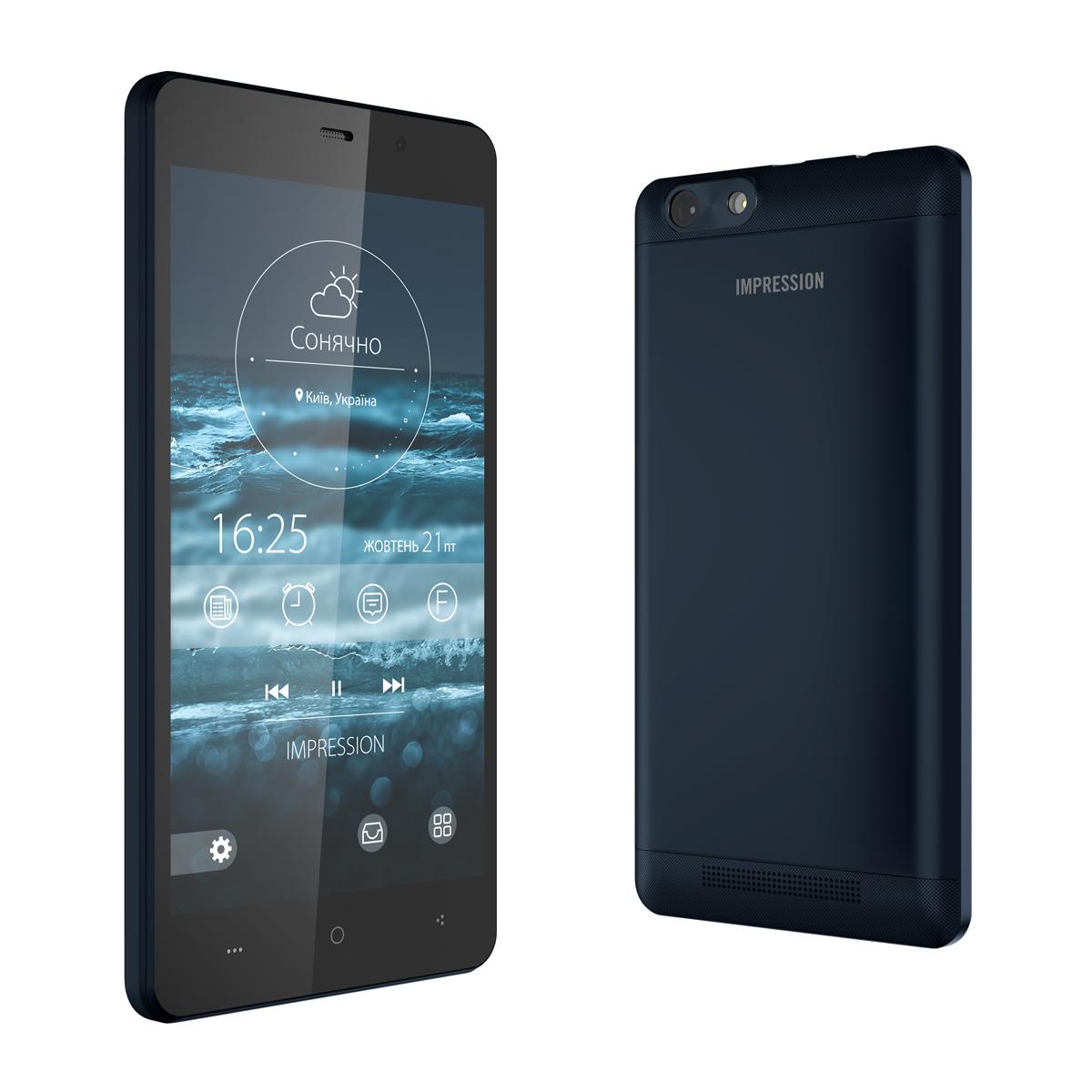 Impression Electronics представил новую линейку смартфонов