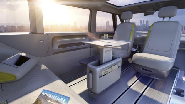 Очередной электрический микроавтобус будущего: концептуальный автомобиль VW I. D. Buzz
