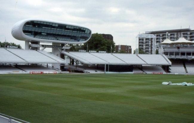 медиа-центр на лондонском стадионе Лорд Крикет.jpg