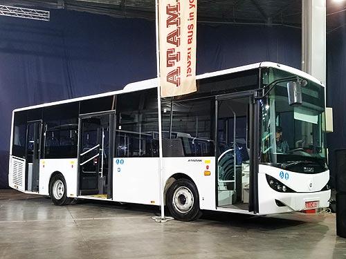 В Черкассах будут выпускать большие автобусы: фото