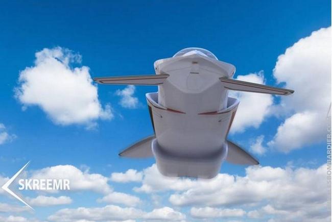 Представлен концепт самолета, который в 5 раз быстрее Concorde