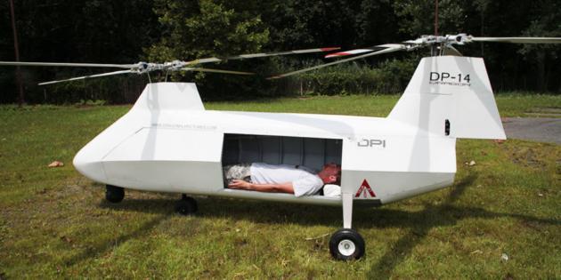 В США создали дрон для эвакуации раненых: фото
