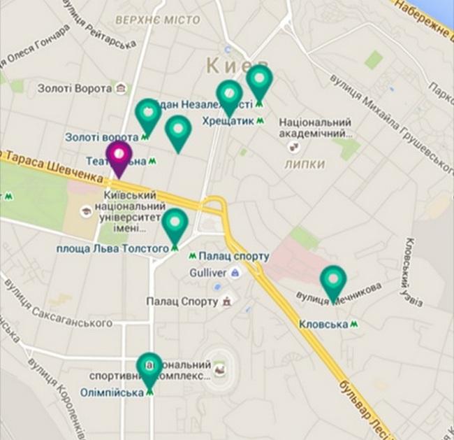 В Киевском метро к Wi-Fi сети подключили еще 4 станции