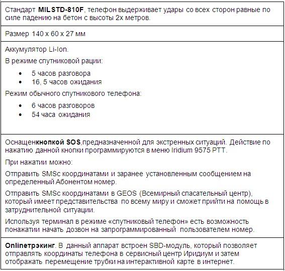 """Сервис от оператора Iridium""""СПУТНИКОВАЯ РАЦИЯ"""" - Push toTALK"""
