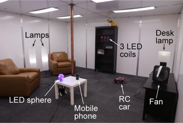 Инженерам Disney Research удалось сделать комнату беспроводной зарядки девайсов
