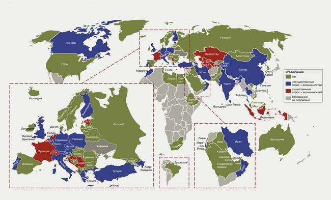 Украинцы могут летать без ограничений в 40 стран: инфографика