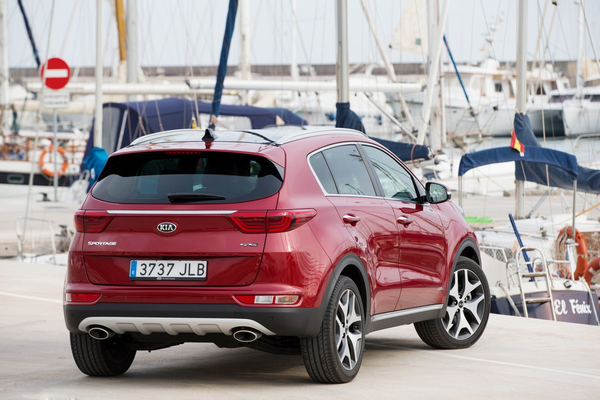 Kia Sportage - самый популярный автомобиль июня в Украине!