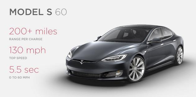 Tesla представила две новые версии электромобиля Model S: фото
