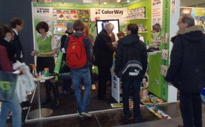 ColorWay принял участие в CеBIT 2013