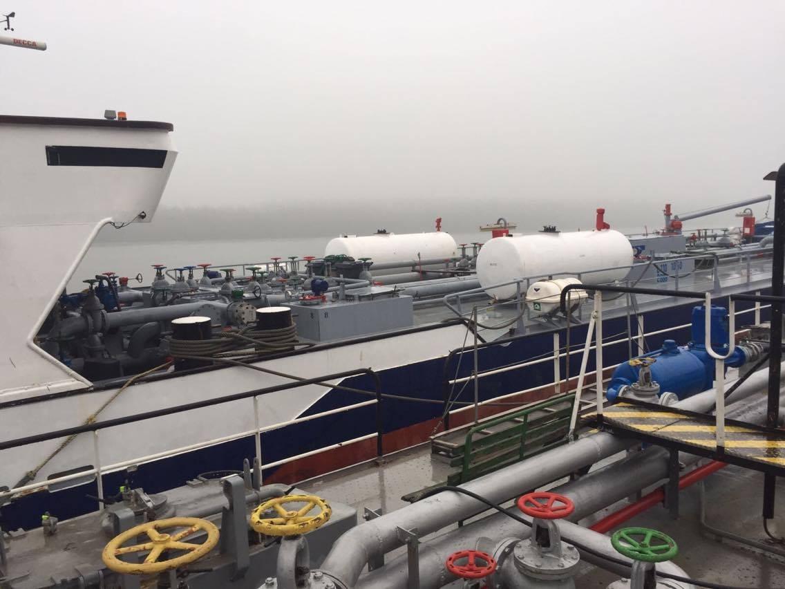 Схема Курченко: арестованы четыре речных судна в Рени (фото)