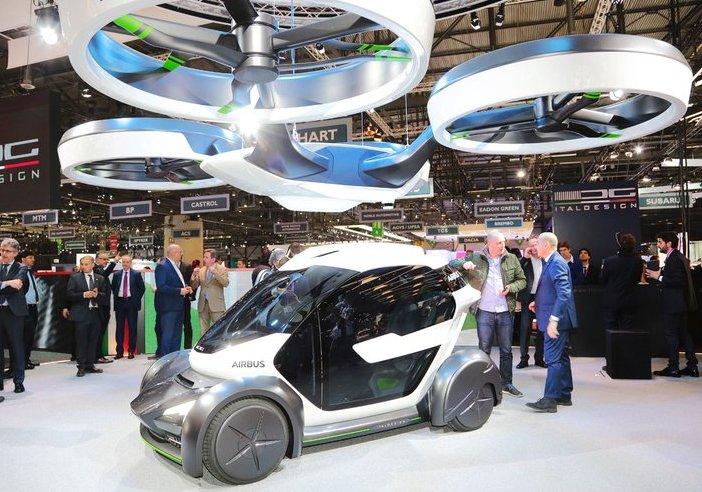 Wow-эффект. На Женевском автосалоне показали машины будущего