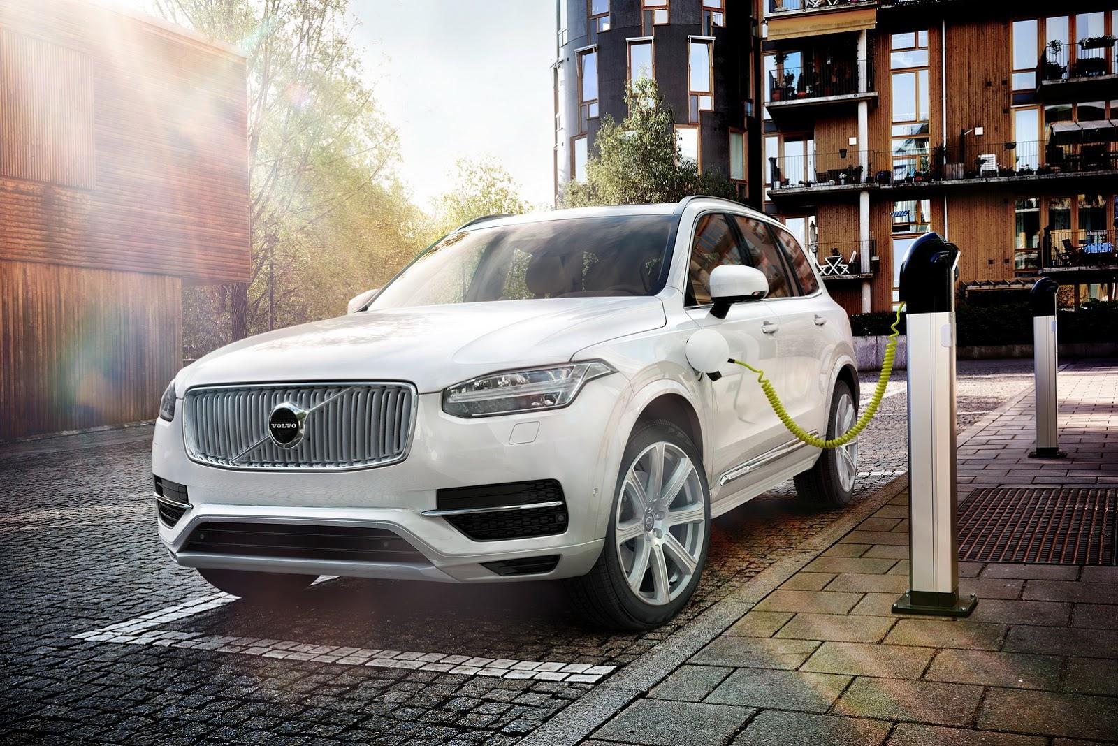 Первый электрокар Volvo будут выпускать в Китае: фото