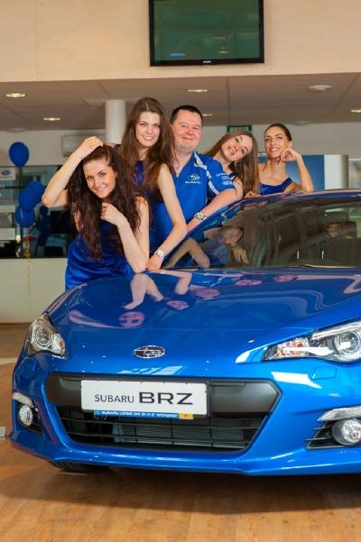 В Киеве прошла презентация Subaru BRZ