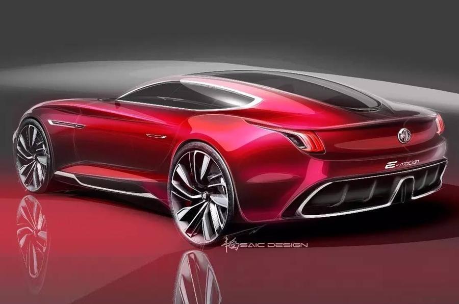 MG показала электрическое купе E-Motion: фото