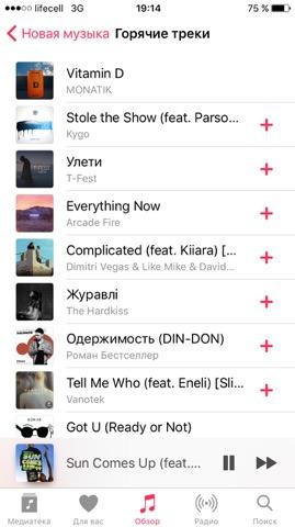 Мобильная музыка: сколько стоит подписка в Украине