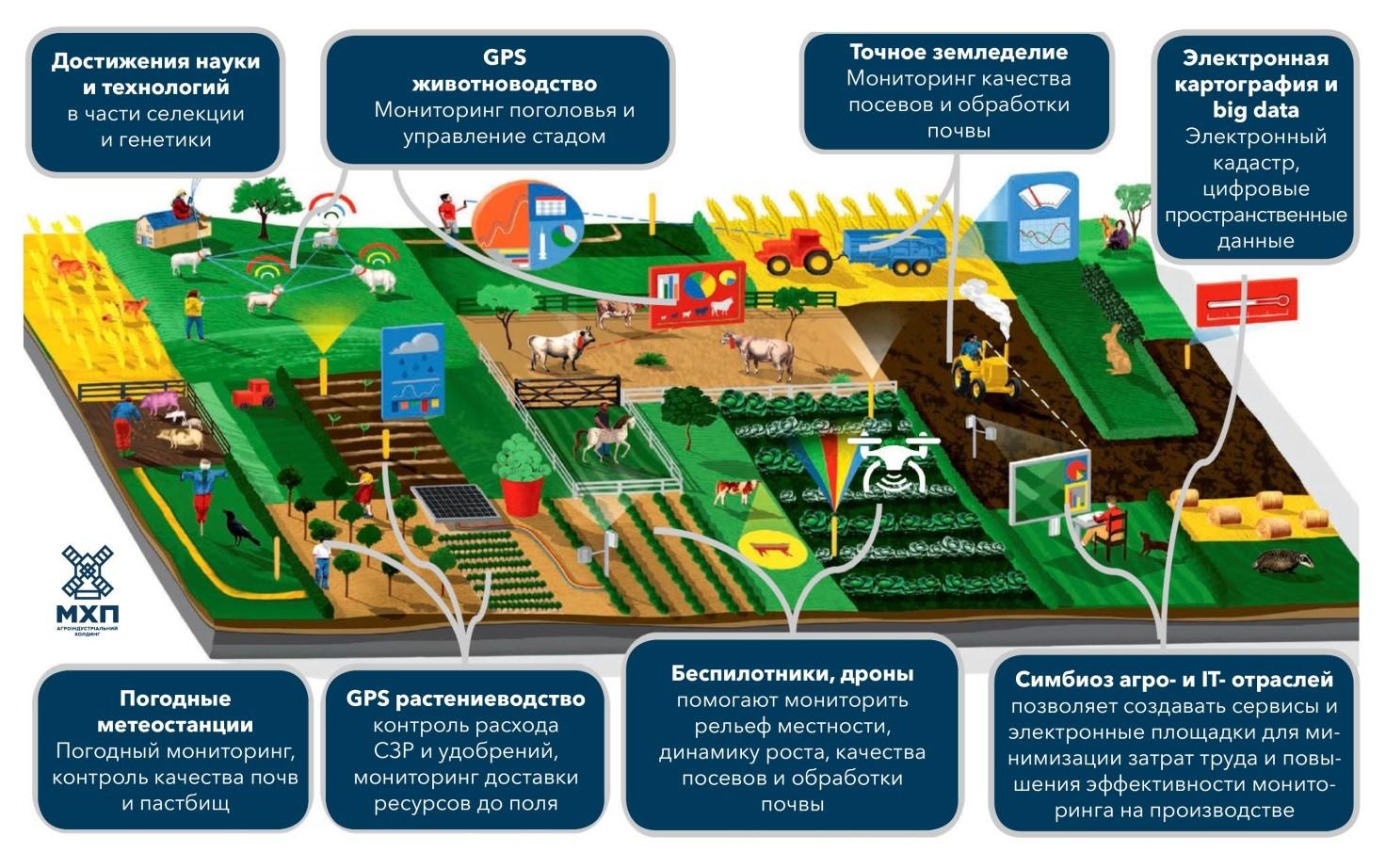 Гости из будущего. Как инновации помогают аграриям в работе