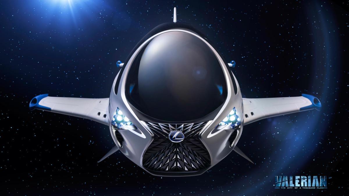 Lexus создал межгалактический корабль Skyjet: фото, видео