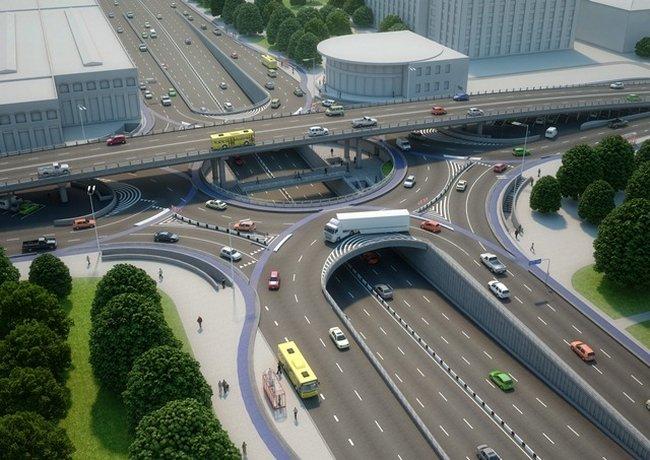 Какой будет транспортная развязка на Шулявке (фото)