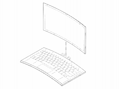 Intel запатентовала ноутбук с изогнутым корпусом