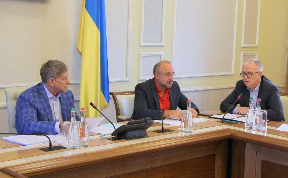 Минэнерго. Владимир Игнащенко - крайний справа