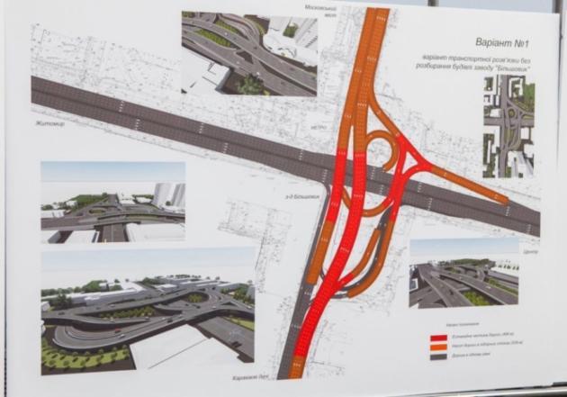 Киев выбрал варианты реконструкции Шулявского путепровода: фото