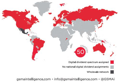 Какие страны распределили цифровой дивидент