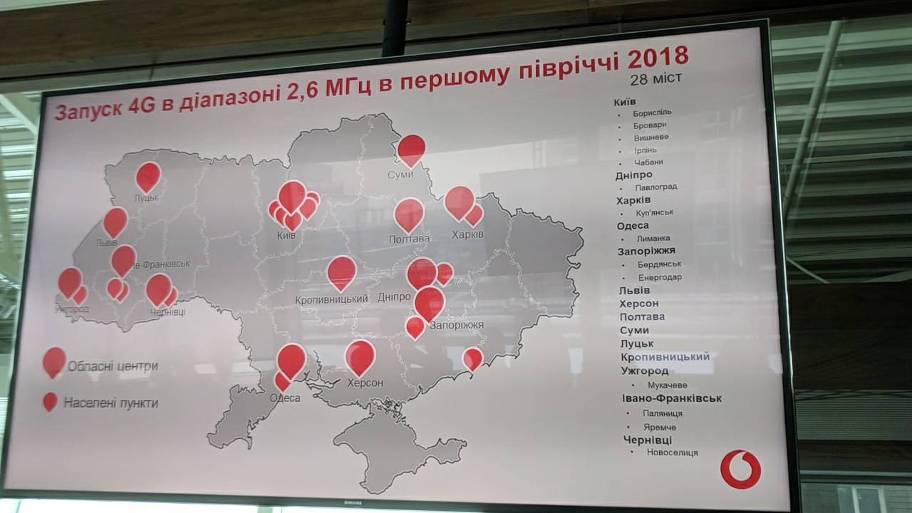 Вгосударстве Украина обещают запустить 4G вближайшие дни