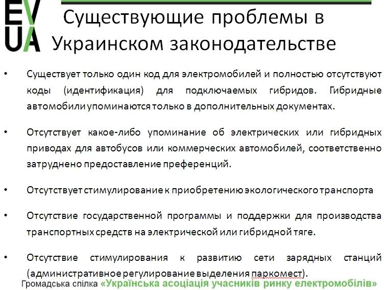 Почему отмены пошлин мало для электромобильного бума в Украине