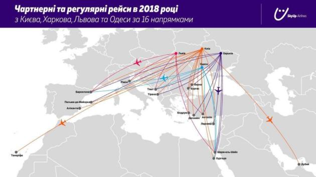 Новая авиакомпания SkyUp начнет полеты весной 2018-го