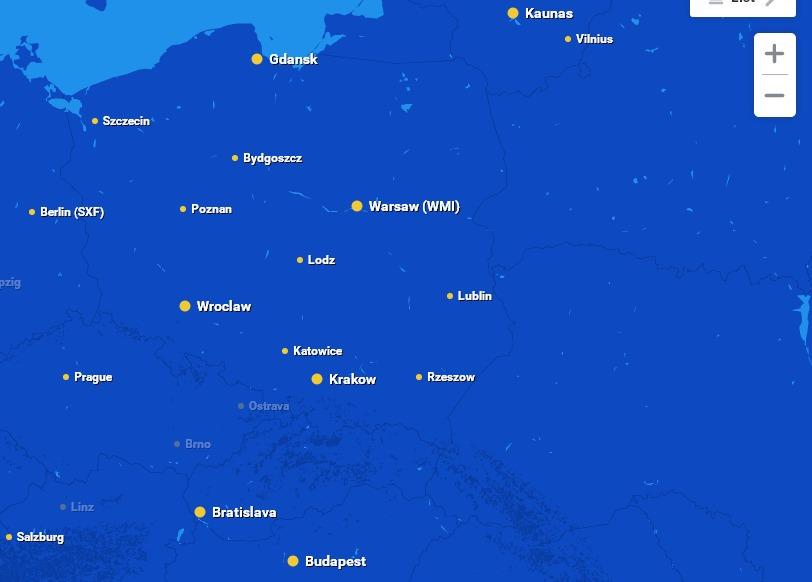 Ryanair распродает авиабилеты по 10 евро