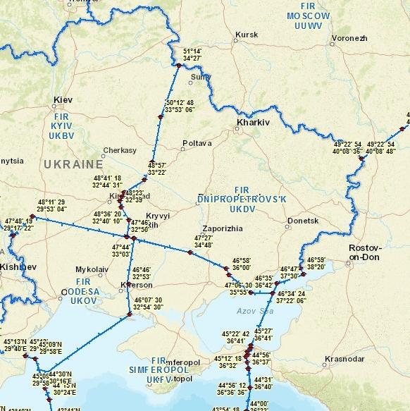 Закрытое небо. Половину Украины могут лишить авиасообщения