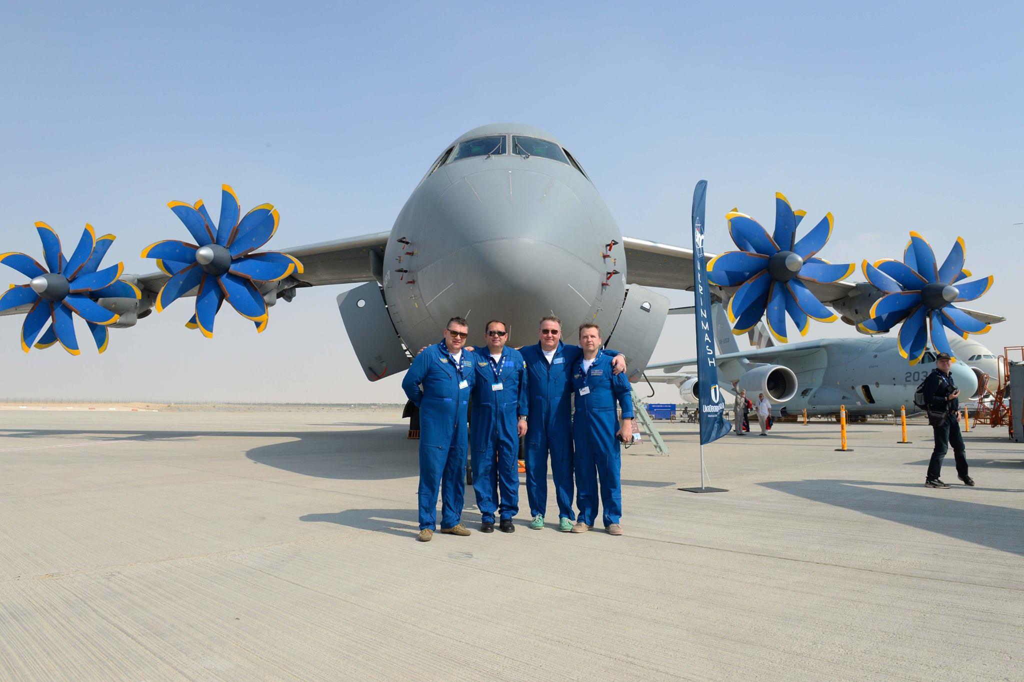 Украина представила два самолета на салоне в Дубае: фото, видео