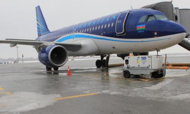 Аэропорт Борисполь в ледяном плену: фото