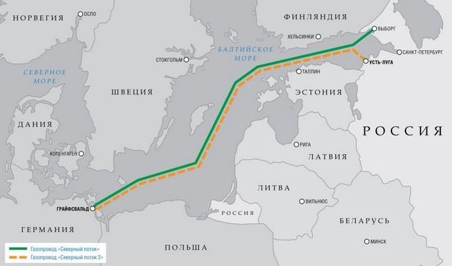 газопроводу Северный поток