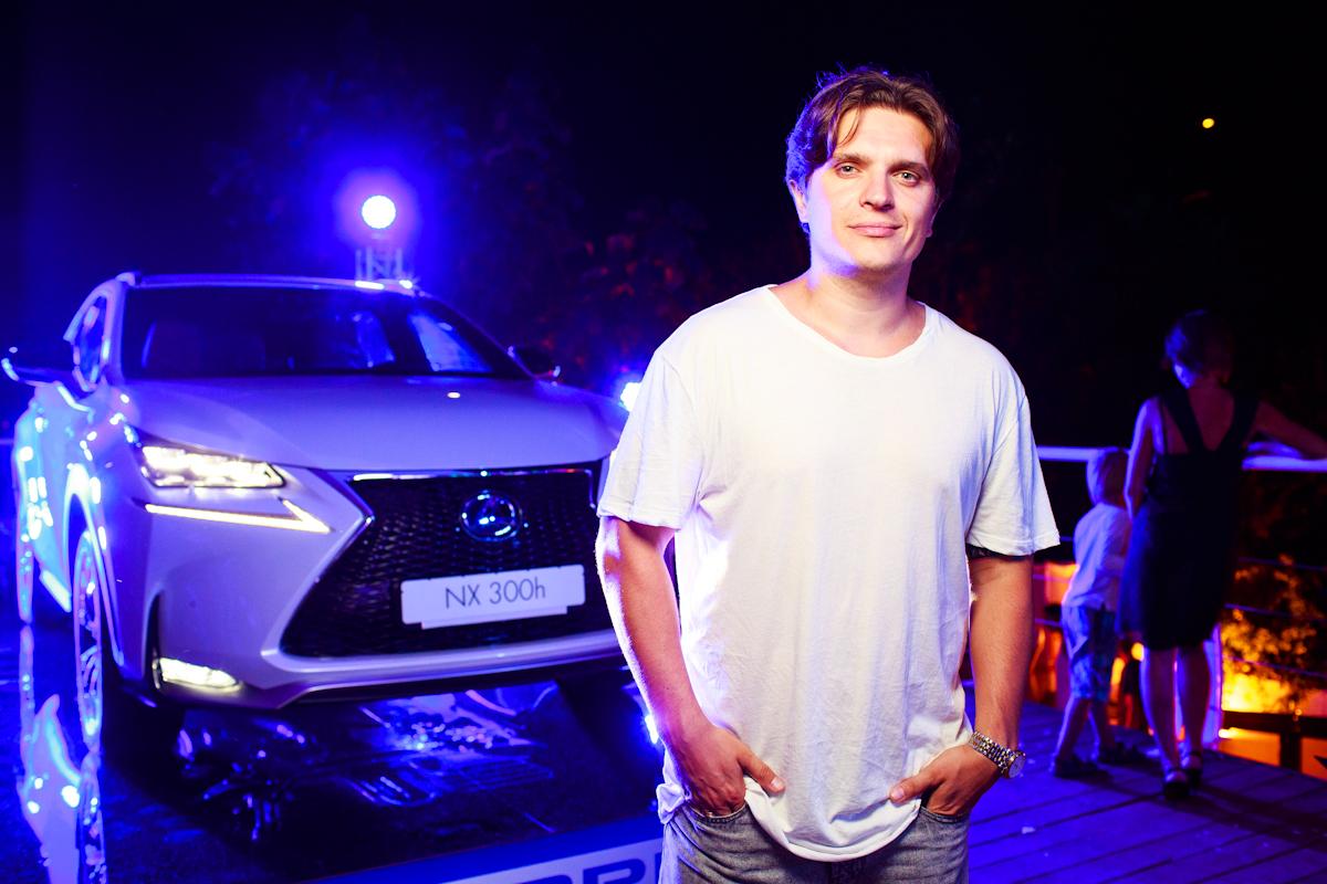 "Lexus NX 300h на ""Jetsetter ice party"" в Одессе"