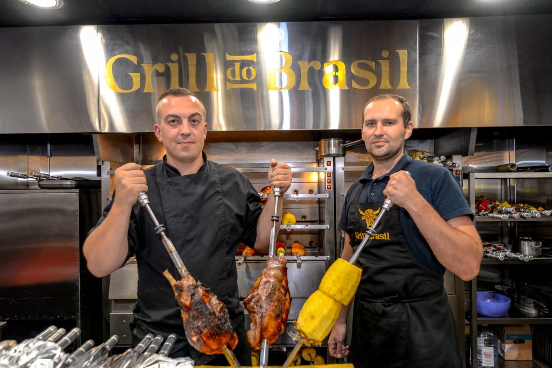 Проведи праздник в центре Киева: ресторан Grill Do Brasil
