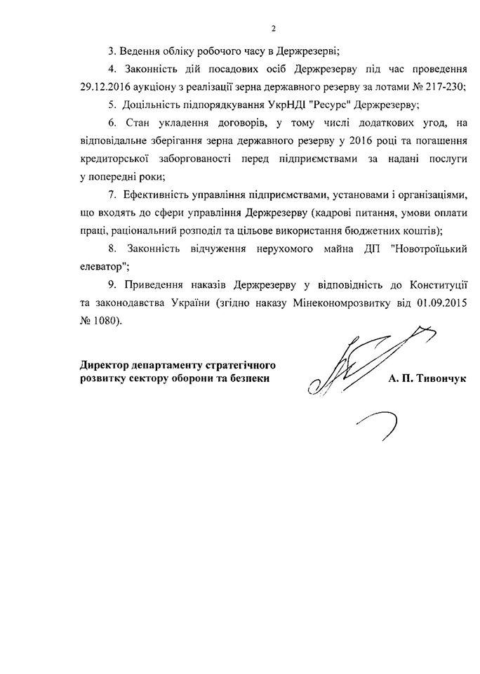 В Госрезерв снова нагрянула проверка из Минэкономразвития
