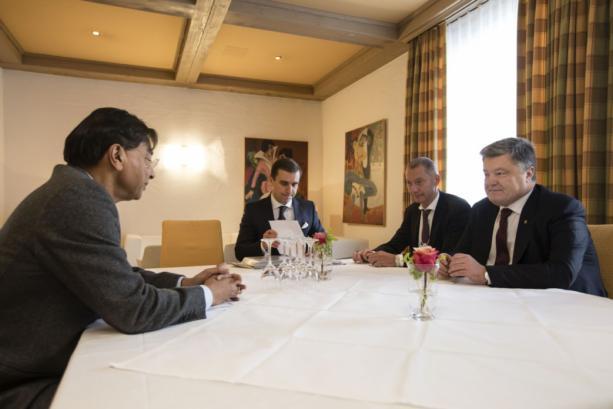 Порошенко пригласил Миттала и Макленнана к приватизации в Украине