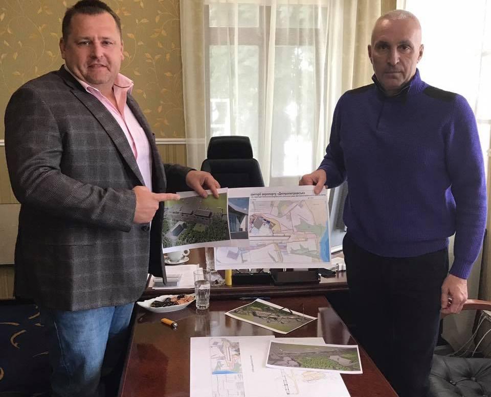 Ярославский построит новый аэропорт в Днепре