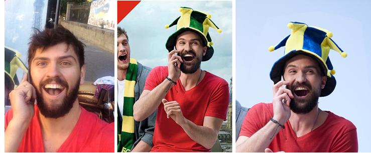 """Момент славы. Как Vodafone """"украл"""" у киевлянина бороду и улыбку"""