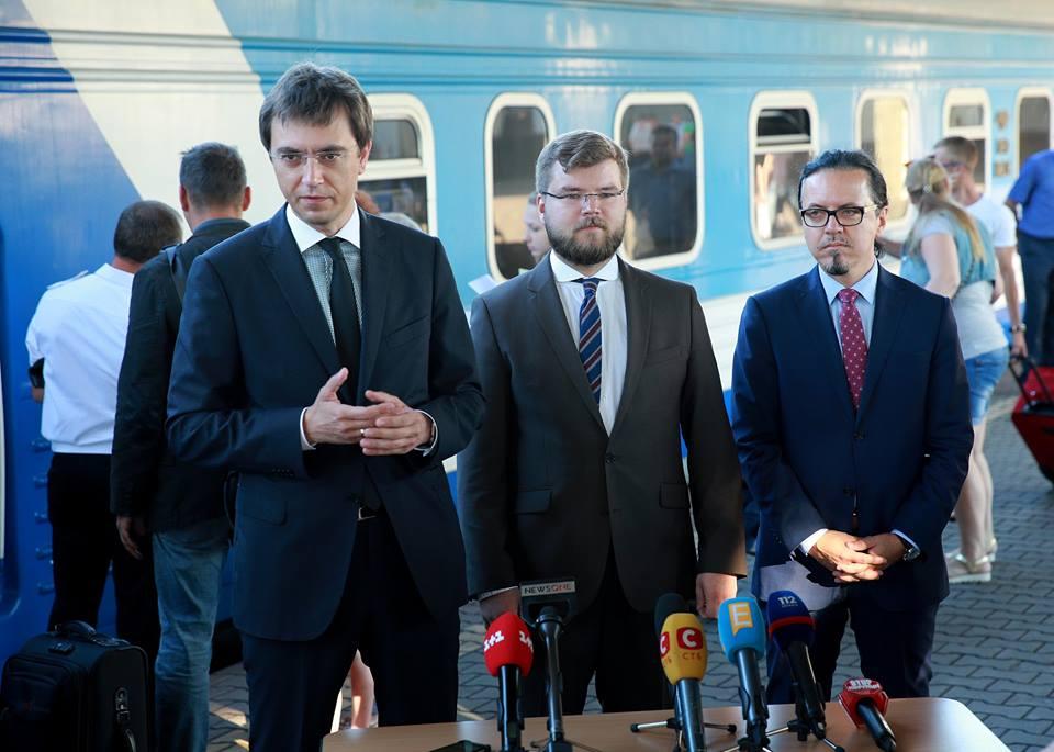 Владимир Омелян: Балчун сбежал из страны