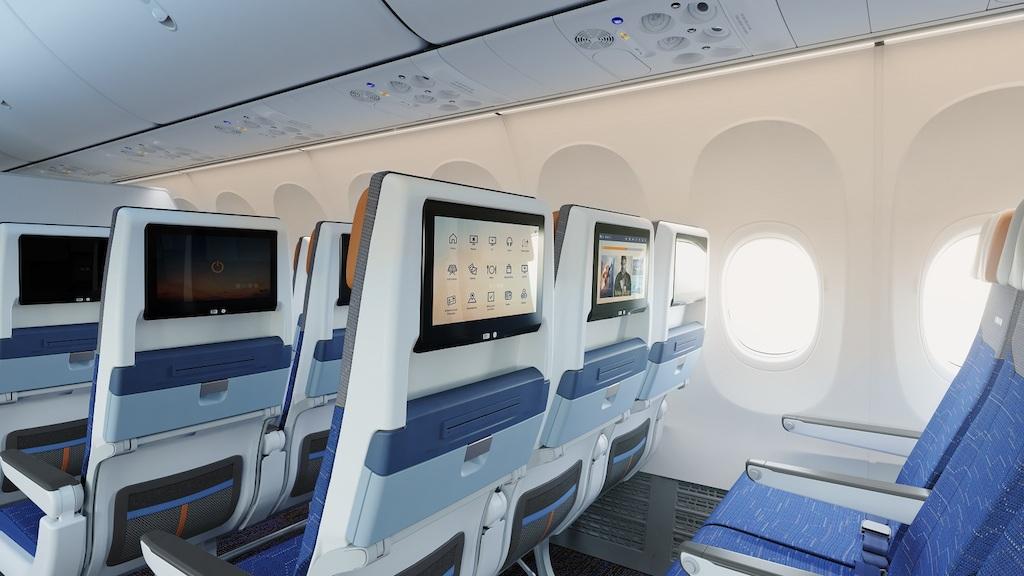 flydubai представила первый самолет Boeing 737 MAX 8: видео