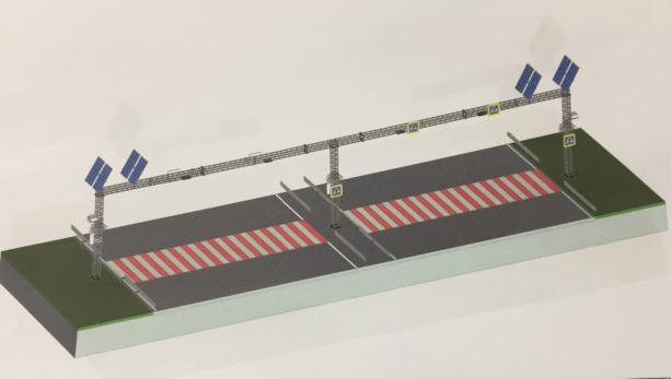 Укравтодор построит безопасные пешеходные переходы: инфографика