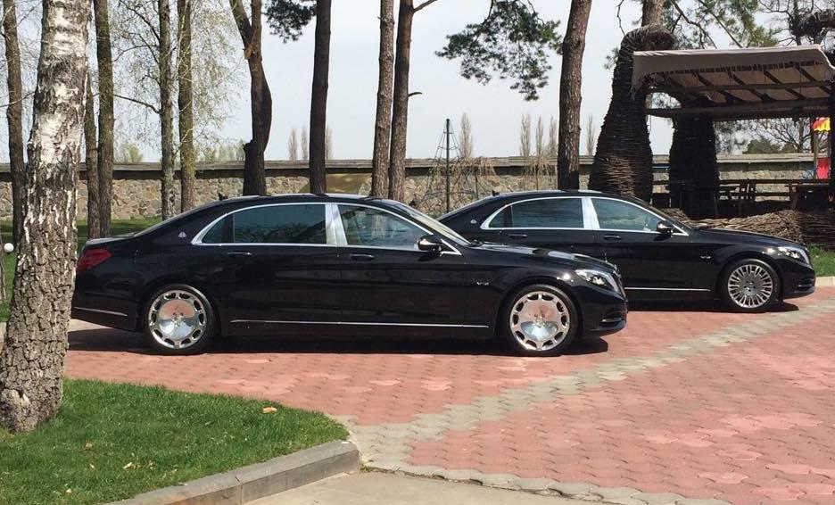 Машина для чиновников. Mercedes представил в Украине Maybach